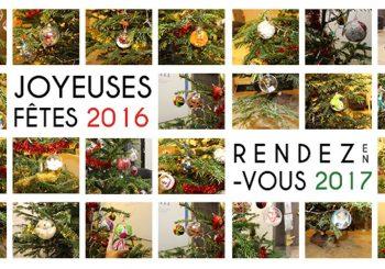 Joyeuses fêtes 2016