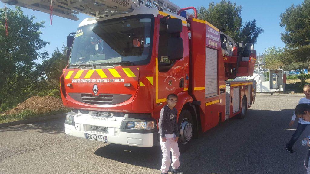 Sees – Visite chez les pompiers