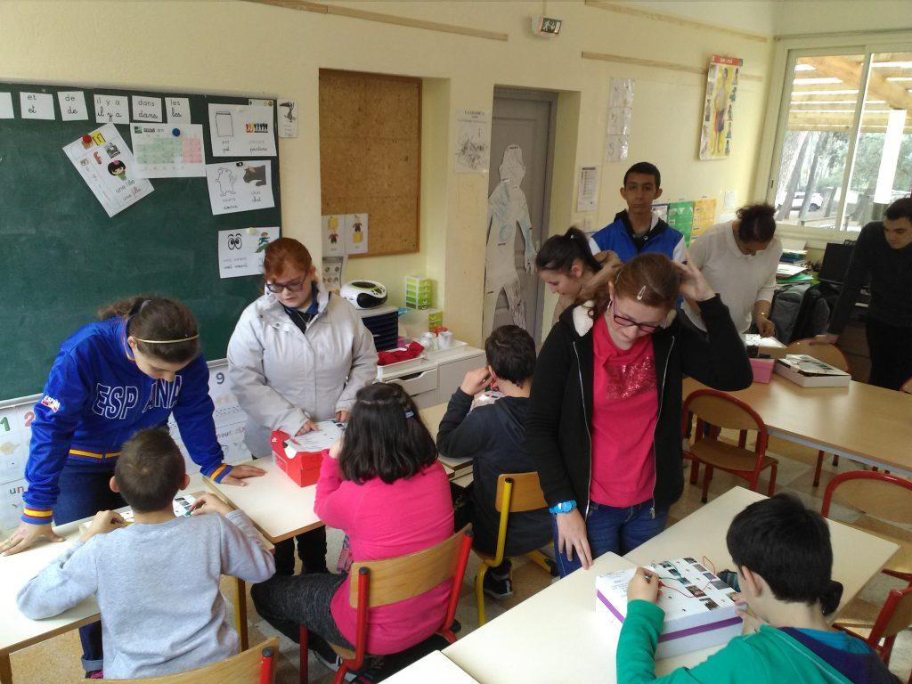 Echanges entre les groupes scolaires